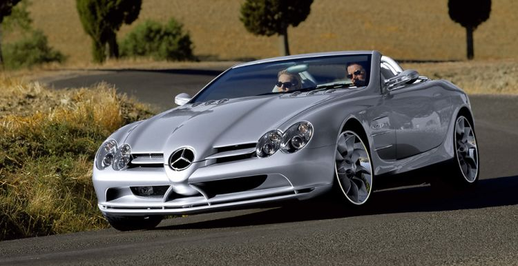 Mercedes Vision SLR Roadster La historia del Mercedes-Benz SLR McLaren