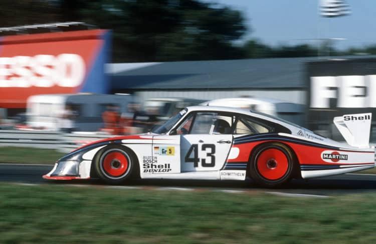 Moby Dick – the 1978 Porsche 935 78 Los 10 mejores modelos de Porsche de los años 70
