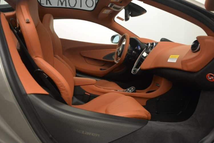 New 2017 McLaren 570GT ¿Qué diferencia a los interiores de McLaren de otros autos?