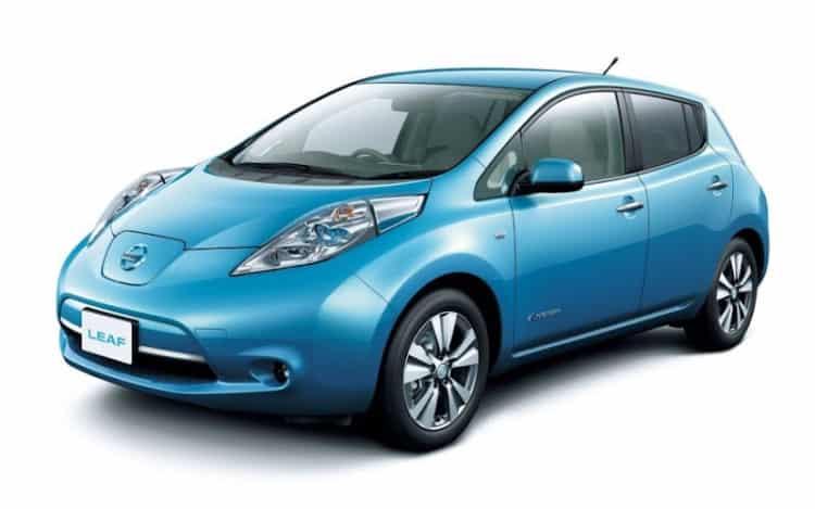 Nissan Leaf Top 10 de autos eléctricos más esperados para 2018