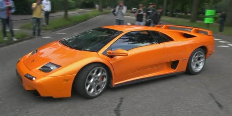 Orange Diablo La historia y evolución del Lamborghini Diablo