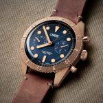 Oris Carl Brashear Chronograph Limited Edition Bronze 5 El nuevo reloj de bronce de edición limitada con cronógrafo Oris Carl Brashear
