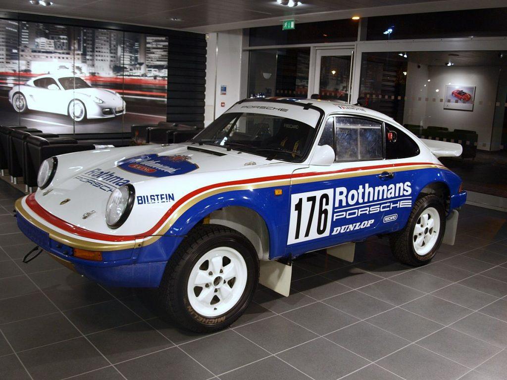 Porsche 911 Carrera SC 3.2 4x4 'Paris Dakar 953 Los cinco mejores modelos de Porsche para todo terreno