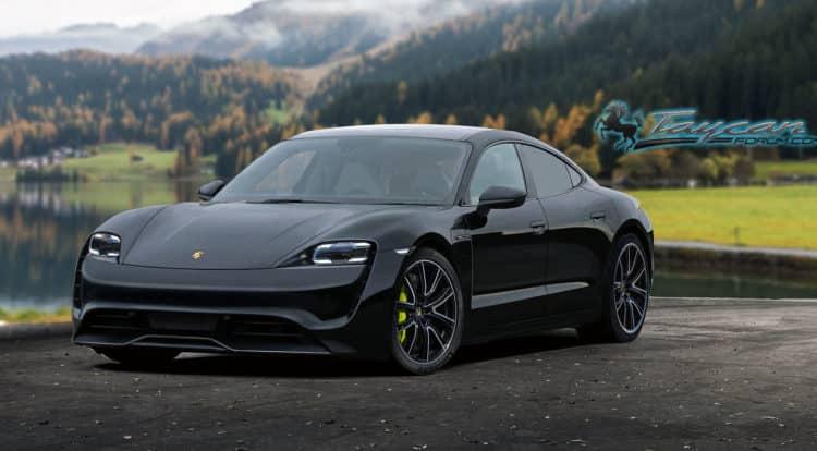 PorscheTaycan black front e1552066022563 20 coches eléctricos que no podemos esperar a ver en 2020