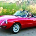 Second Generation Alfa Romeo Spider Historia y evolución del Alfa Romeo Spider