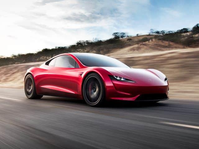 Tesla Roadster ¿Cuánto cuesta pintar un coche?