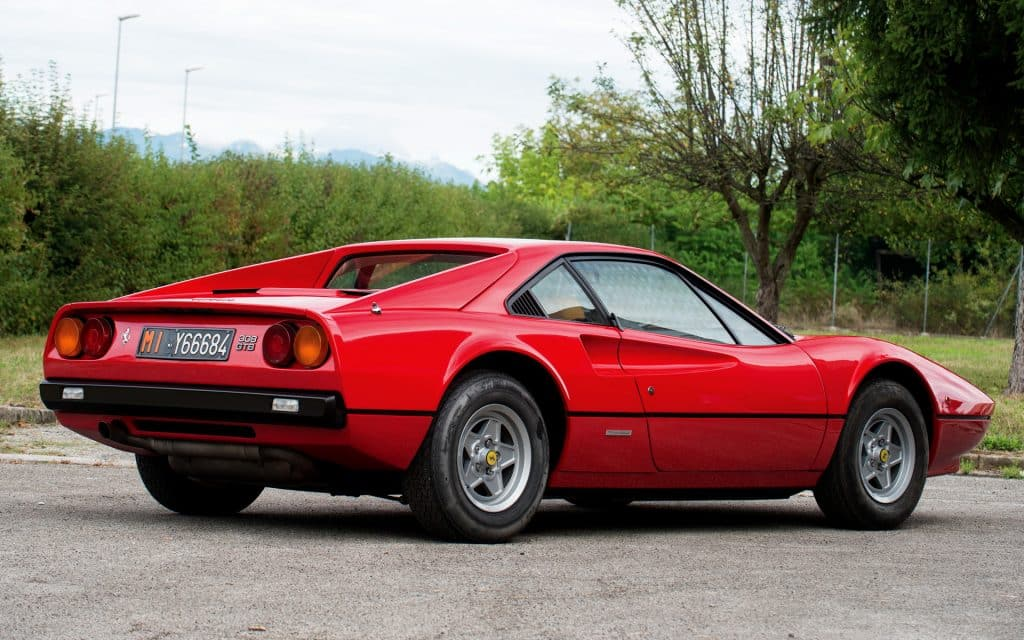 The 1975 Ferrari 308 GTS Una mirada más cercana al Ferrari 308 GTS de 1975