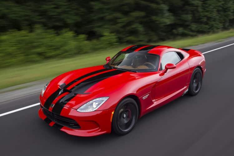 El 2017 Dodge Viper SRT