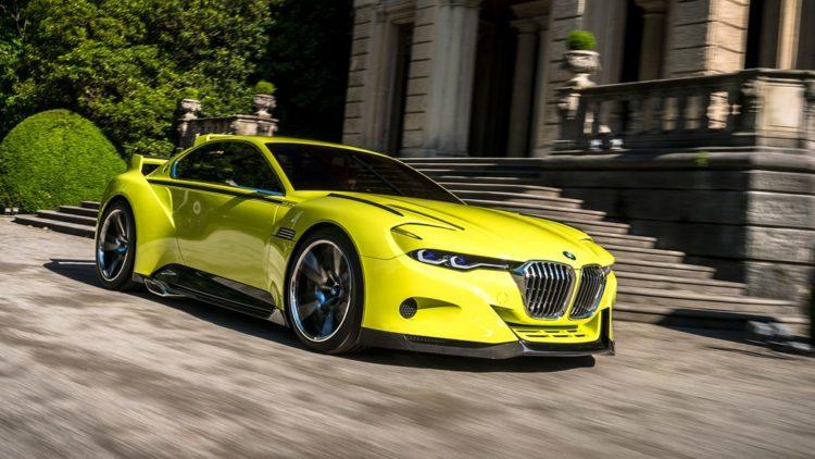 The BMW 3.0 CSL Hommage Concept Los 20 BMW más caros jamás construidos