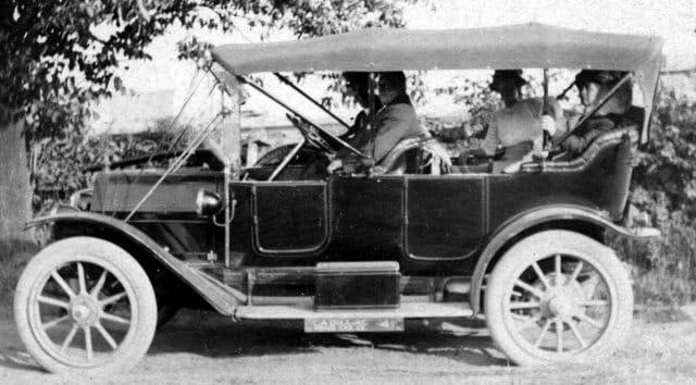 El Cadillac Touring, 1912
