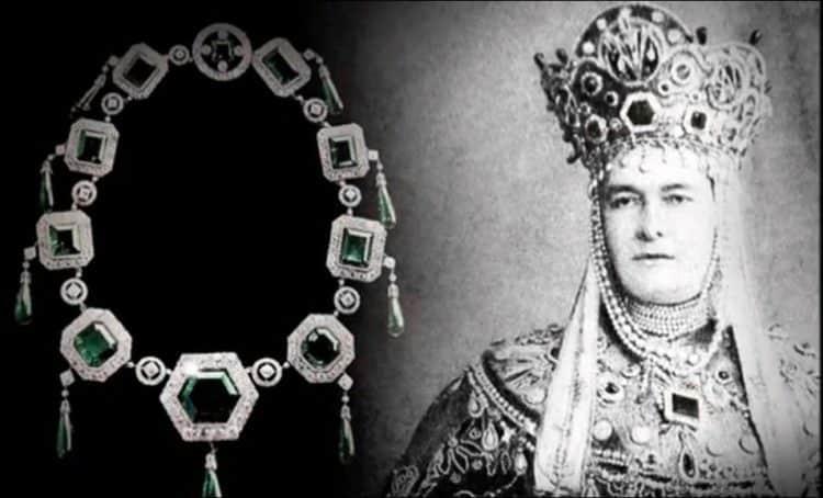 La Esmeralda Imperial de la Gran Duquesa Vladimir / foto de pinterest
