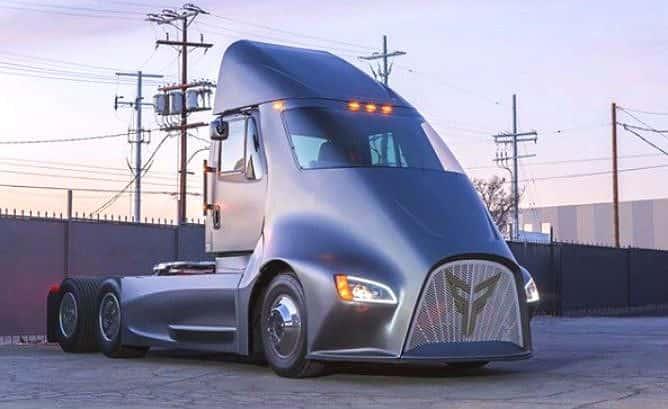 Thor ET One 668x409 El semirremolque eléctrico Thor que planea enfrentarse a Tesla