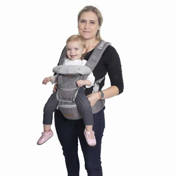 TommyDommy 6 in 1 Ergonomic Baby Carrier with Hip Seat The top five convertible baby carriers on the market today