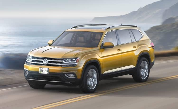 Volkswagen Atlas Los diez SUV más importantes de 2018 a tener en cuenta