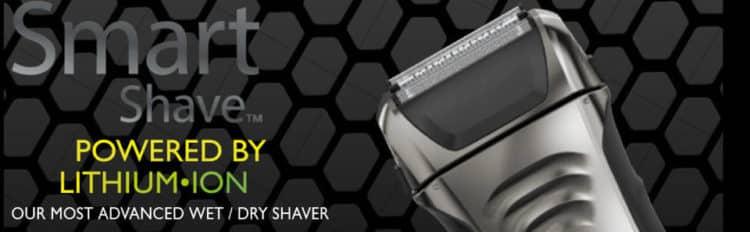 Wahl Smart Shave Wet Dry Waterproof Foil Shaver Las cinco mejores afeitadoras eléctricas Wahl del mercado actual