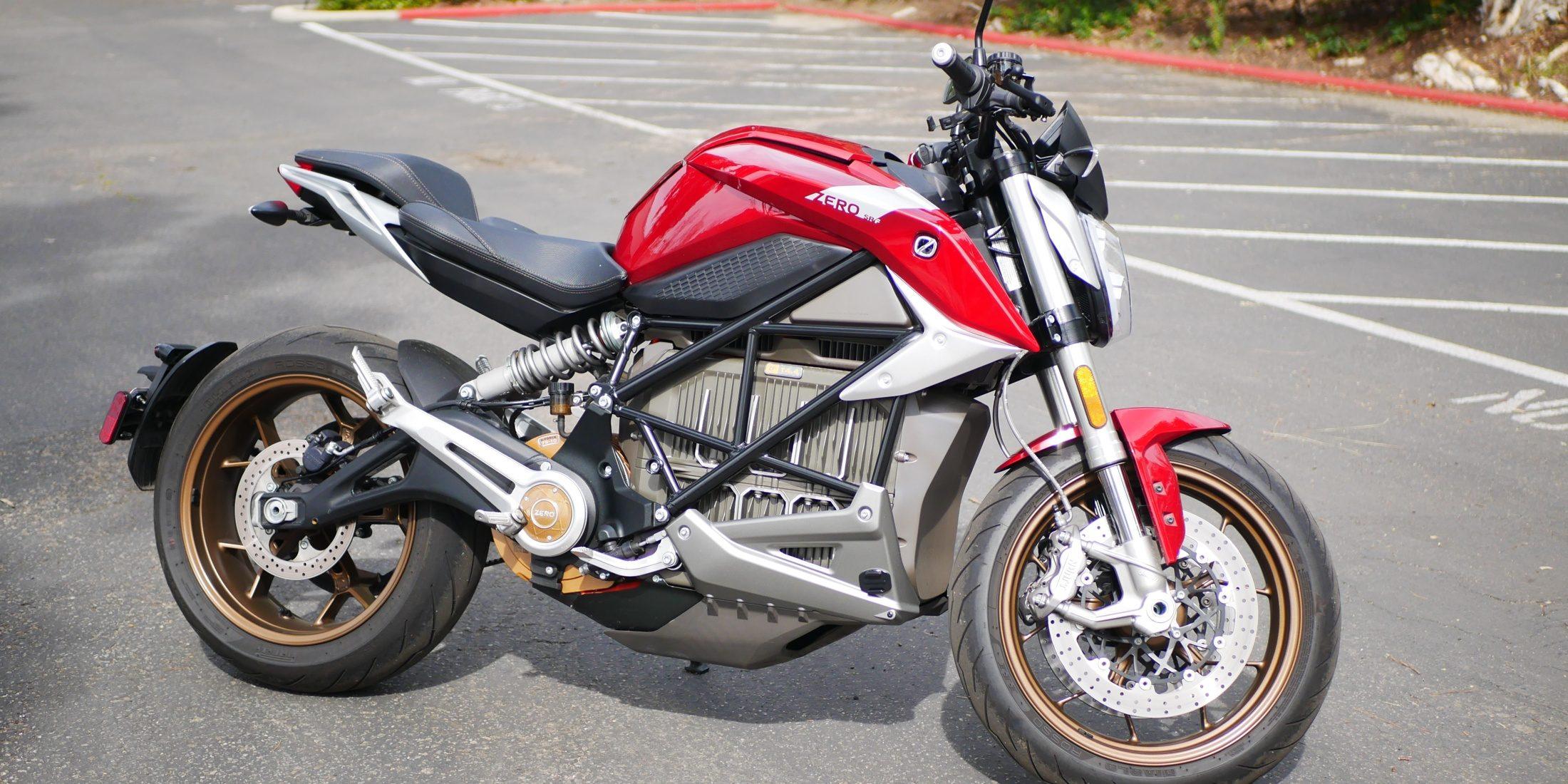 Zero SR F Las 10 mejores motocicletas eléctricas de 2020