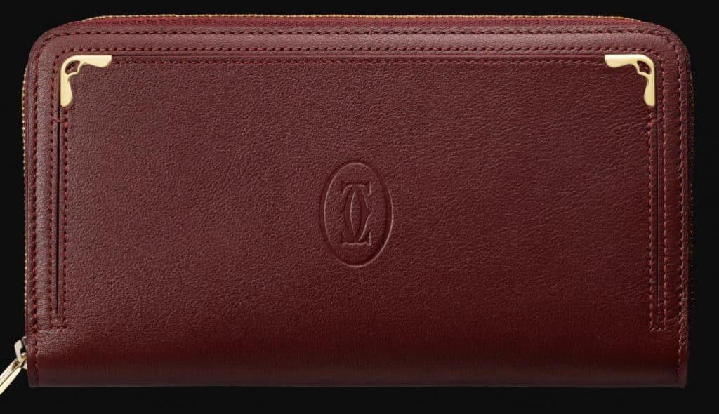 Zipped International Wallet Must De Cartier Las cinco mejores carteras Cartier que el dinero puede comprar