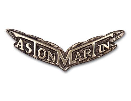 aston martin logo 1927 Historia y evolución del logotipo de Aston Martin