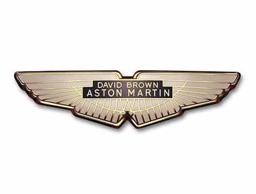 aston martin logo 1971 Historia y evolución del logotipo de Aston Martin