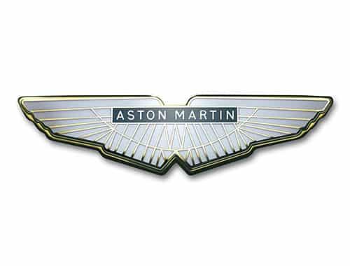 aston martin logo 1972 Historia y evolución del logotipo de Aston Martin