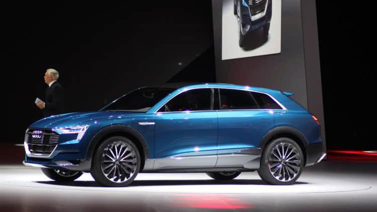 audi etron Los 10 coches eléctricos más esperados para 2018