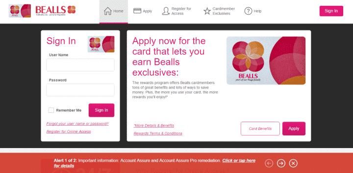 bealls credit card login portal 10 benefits of having a Bealls credit card