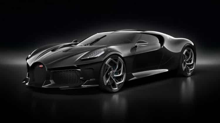 bugatti la voiture noire car design dezeen 2364 hero 1 852x479 Los 20 autos más caros del mundo a partir de 2019
