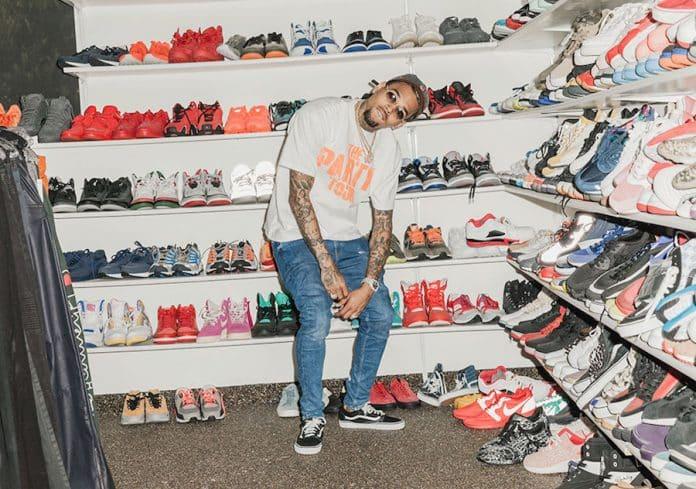 Colección Chris Brown Sneaker Cabinet ¿Son las zapatillas de deporte las nuevas tarjetas de béisbol?