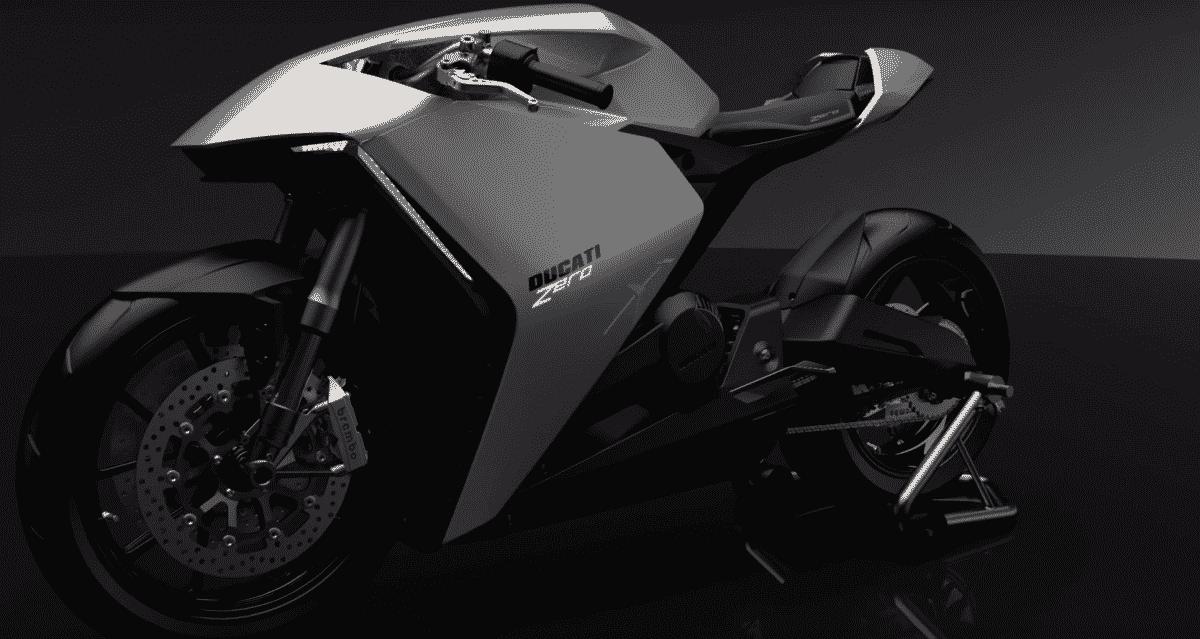 ducati futuristic electric motorcycle Ducati está trabajando en una motocicleta eléctrica futurista