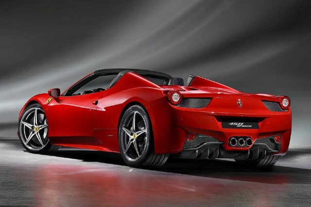 The 10 fastest Ferraris of all time: 458 Spider