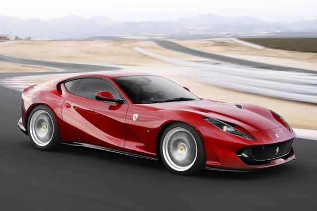 Top 10 fastest Ferrari of all time: 812 Superfast