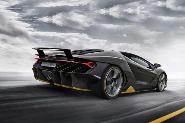 Top 7 Fastest Lamborghini of All Time: Centenario