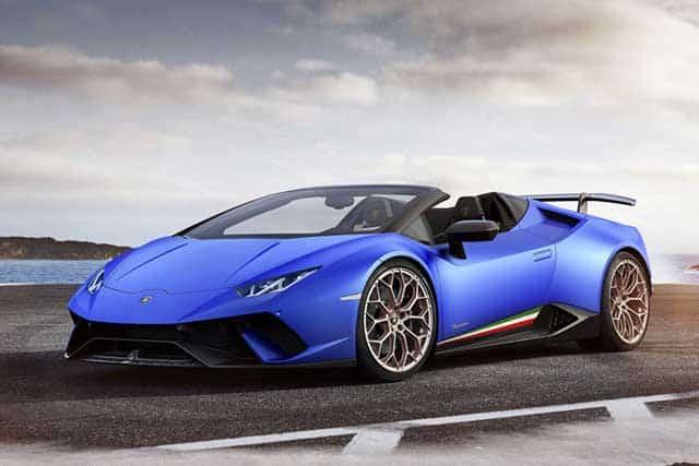 The 7 fastest Lamborghini of all time: Huracán
