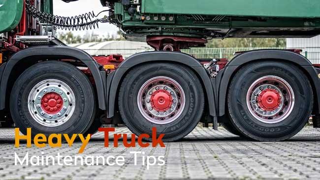 heavy truck maintenance tips Consejos de mantenimiento de camiones pesados para ayudar a que su camión funcione bien