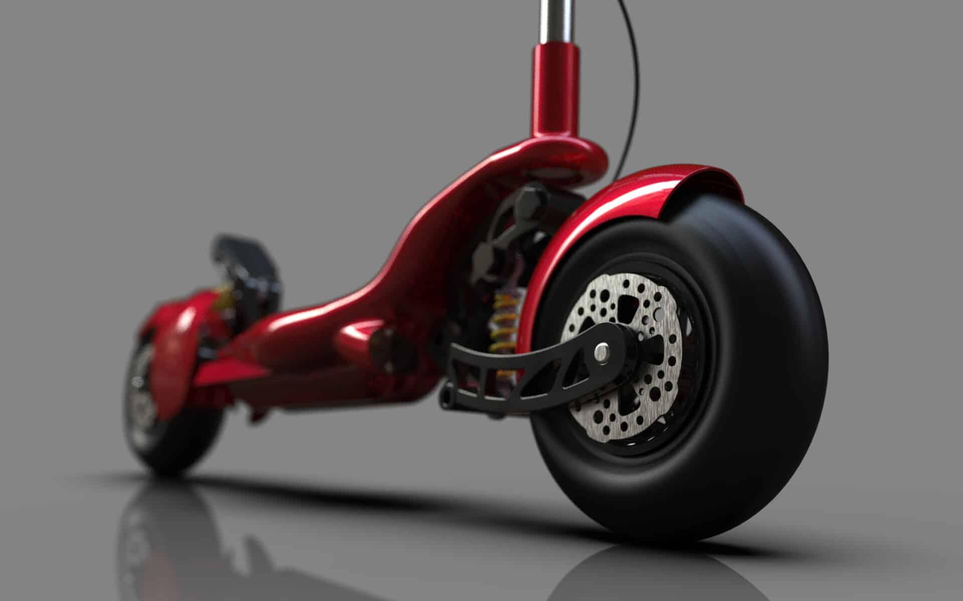 ihor kozodoi scooterf80 8 ¿Sabías que Ferrari fabrica un scooter eléctrico?