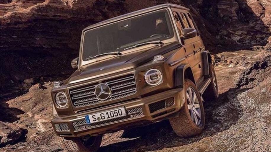 mercedes g leak 2 Se filtra el Mercedes-Benz Clase G 2019