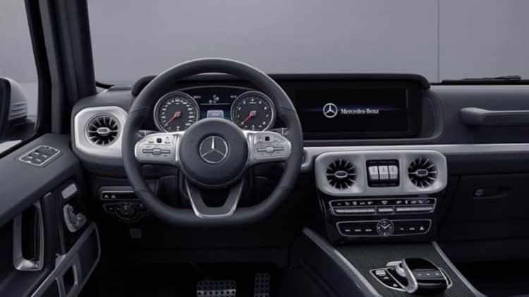 mercedes g leak 3 Se filtra el Mercedes-Benz Clase G 2019