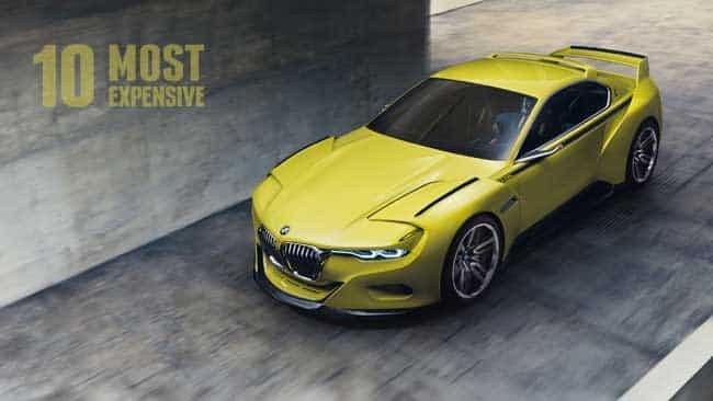 most expensive bmw cars Los 10 autos BMW más caros del mundo