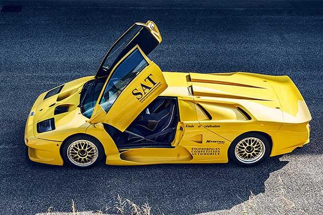 Los 10 Lamborghini m谩s caros del mundo: Diablo GT1