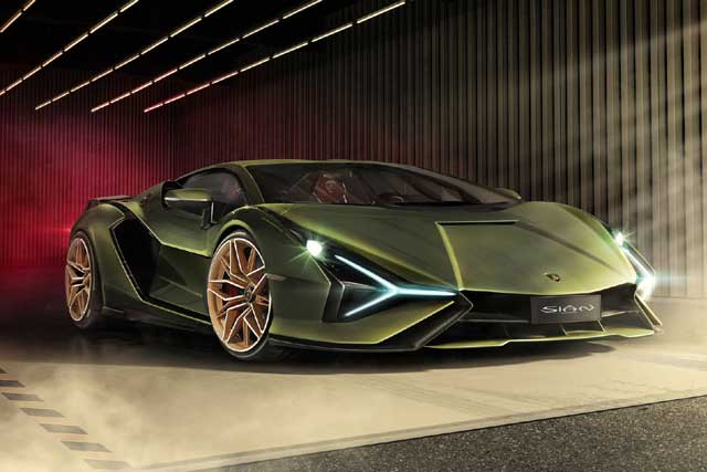 Los 10 Lamborghini más caros del mundo: Sian FKP 37