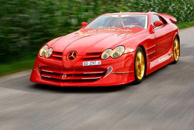 Los 10 autos Mercedes-Benz más caros del mundo: 999 Red Gold Dream