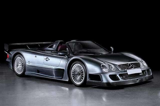 Los 10 autos Mercedes-Benz más caros del mundo: CLK GTR Roadster