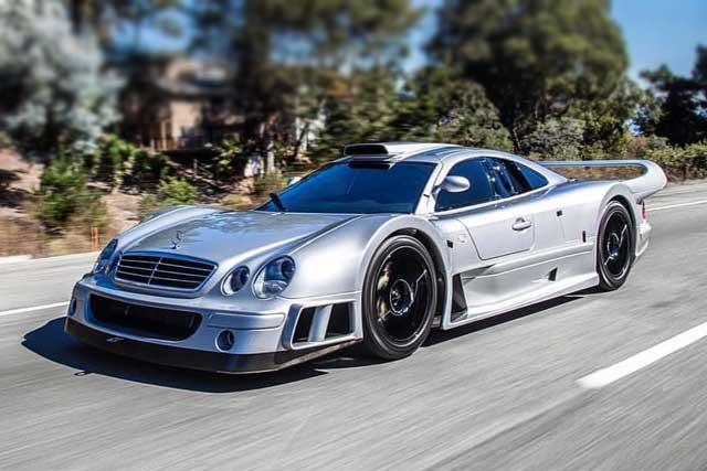 Los 10 autos Mercedes-Benz más caros del mundo: CLK GTR SuperSport