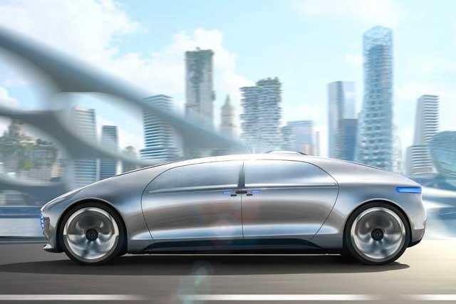 Los 10 autos Mercedes-Benz más caros del mundo: F 015