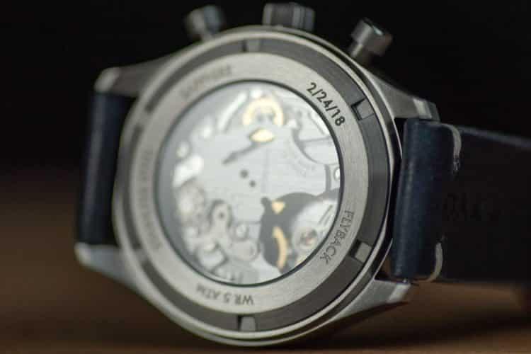 oak 06 Una mirada más cercana al reloj rizador Oak & Oscar Jackson