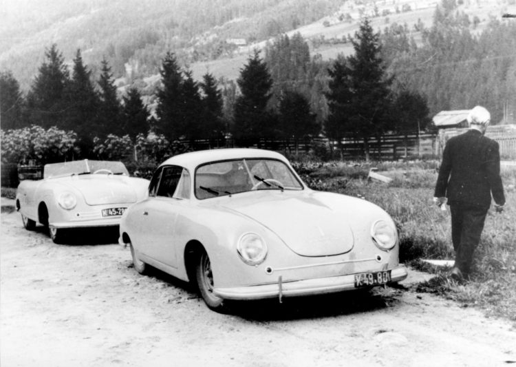 original Porsche 356 1 and 356 2 Historia y evolución del Porsche 356