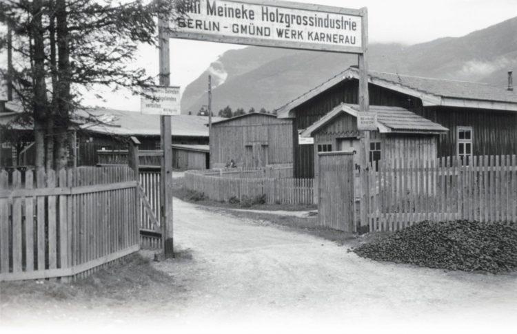 porsche kg converted sawmill in Gmünd Austria Historia y evolución del Porsche 356