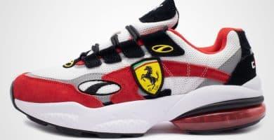 puma cell venom ferrari white red 370338 01 1 Ferrari y Puma se asocian con Cell Venoms inspirados en la Scuderia
