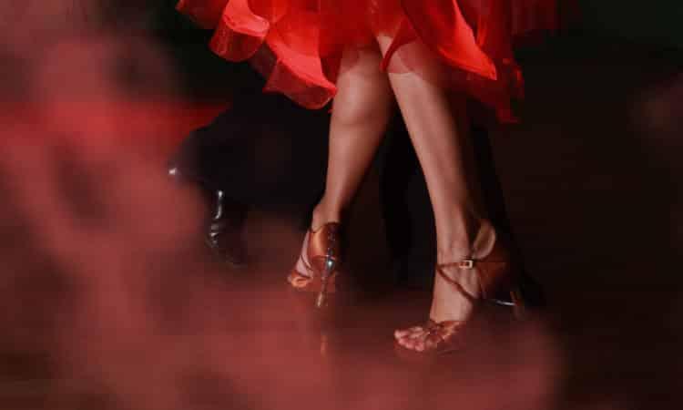 Salsa dancing at Zenzi