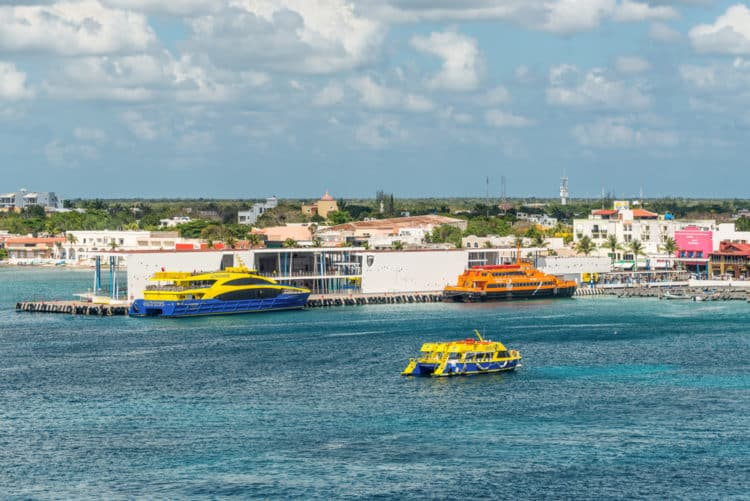 Ferry trip to Cozumel
